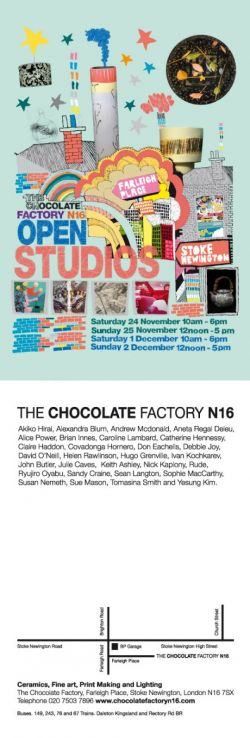 Chocolate Factory Open Studios